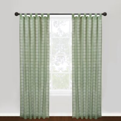 Park B. Smith® Vintage House 100% Cotton Hutton Tab Top Window Curtain Panel