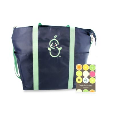 Sage Spoonfuls® Sage Mommy Tote with Pocket Guide