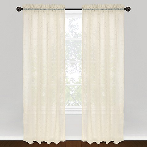 Park B. Smith® Vintage House Syncopation Rod Pocket 100% Cotton Window Curtain Panel