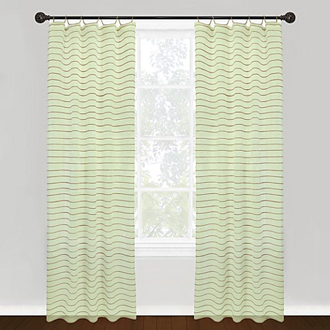 Park B. Smith Vintage House Jordan Serpentine Tab Top 84-Inch Window Curtain Panel