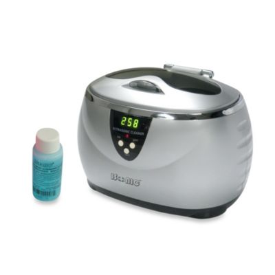 iSonic® Digital Ultrasonic Cleaner in Silver
