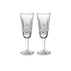 Waterford® Lismore 4-Ounce Champagne Flute (Set of 2)