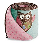 Bananafish® Calico Owls Crib Bumper