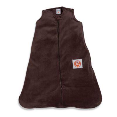 Gunamuna Gunapod Medium Wearable Fleece Blanket in Chocolate