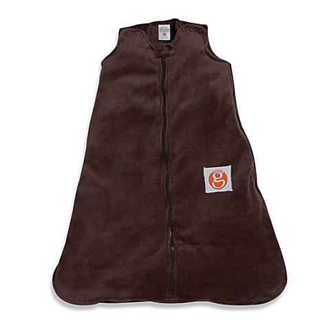 Gunamuna Gunapod Medium Wearable Fleece Blanket in Chocolate