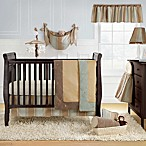 Bananafish® Logan 3-Piece Crib Set & Accessories in Blue/Beige/Gold