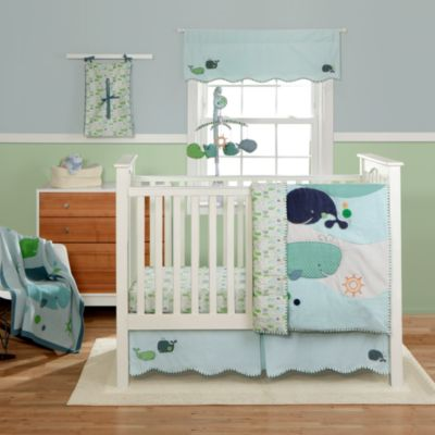 Bananafish® MiGi Little Whale 3-Piece Crib Bedding Set