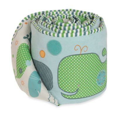Bananafish® MiGi Little Whale Crib Bumper