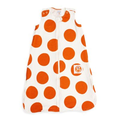 Gunamuna Gunapod Small Wearable Blanket in Orange Dot