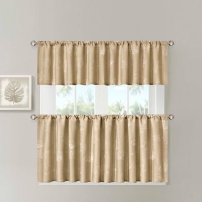 Harbor House™ Chelsea Sea Star 24-Inch Window Curtain Tiers