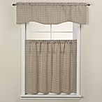 Bedford Rod Pocket Window Curtain Tier Pair