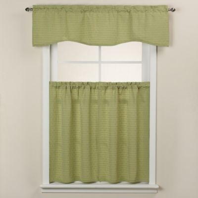 Westgate Rod Pocket Window Curtain Tiers