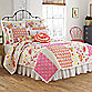 Dena™ Home Camille European Pillow Sham in Pink/Orange