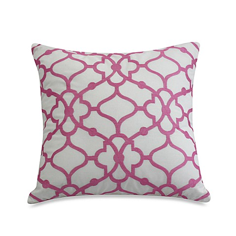 Dena™ Home Camille Embroidered Square Toss Pillow