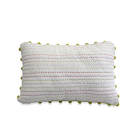 Dena™ Home Camille Hand-Stitched Oblong Toss Pillow