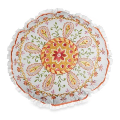 Dena™ Home Meadow Round Toss Pillow