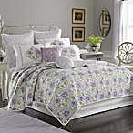 Dena™ Home French Lavender Quilt, 100% Cotton Percale