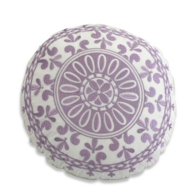 Dena™ Home French Lavender Round Toss Pillow