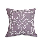 Dena™ Home French Lavender Embroidered Square Toss Pillow