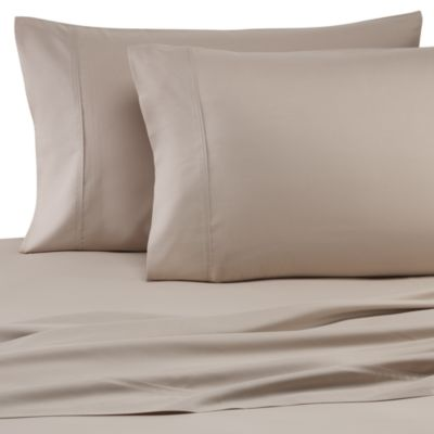 Pure Beech® Percale Weave Modal® Fiber Twin Sheet Set in Taupe