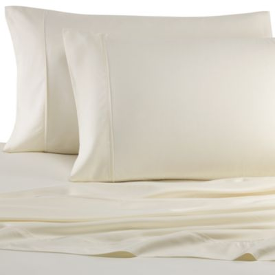 Pure Beech® Percale Weave Modal® Fiber Queen Sheet Set in Cream