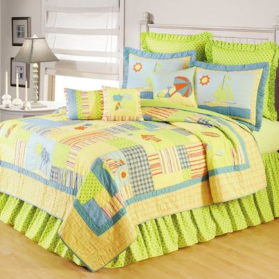 Beach Life Standard Pillow Sham