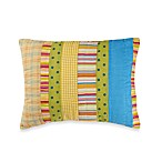Beach Life Striped Bolster Toss Pillow