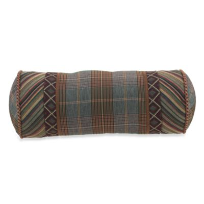 Croscill® Caribou Neckroll Throw Pillow