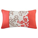 Carina Oblong Toss Pillow in Coral
