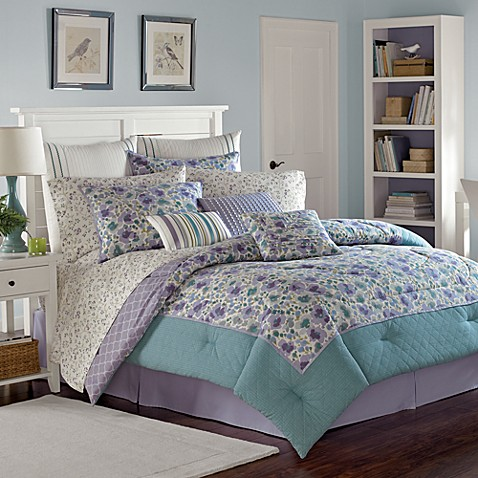 Laura Ashley® Arietta 3-4 Piece Comforter Set