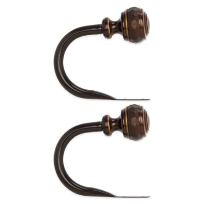 Umbra® Forge Darjeeling Bronze Holdbacks (Set of 2)