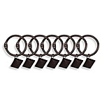 Adjustable Gripper Rod Square Rings (Set of 7)