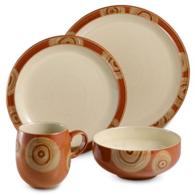 Denby Chilli 4-Piece Place Setting