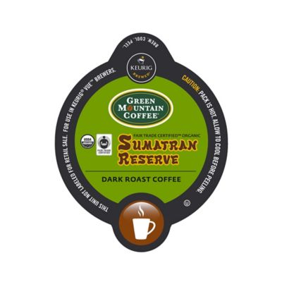 Vue™ 16-Count Green Mountain Coffee® Sumatran Reserve Coffee for Keurig® Brewers