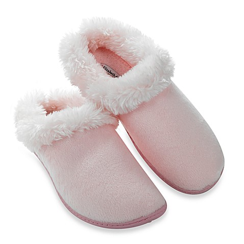 Elizabeth Arden Luxurious Micromink Small Women's Slippers in Pink