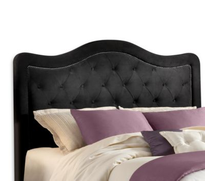 Hillsdale Trieste Pewter Fabric Queen Headboard