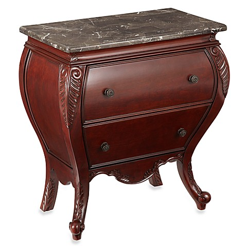 Bombay® Harrington Side Chest in Antique Mahogany
