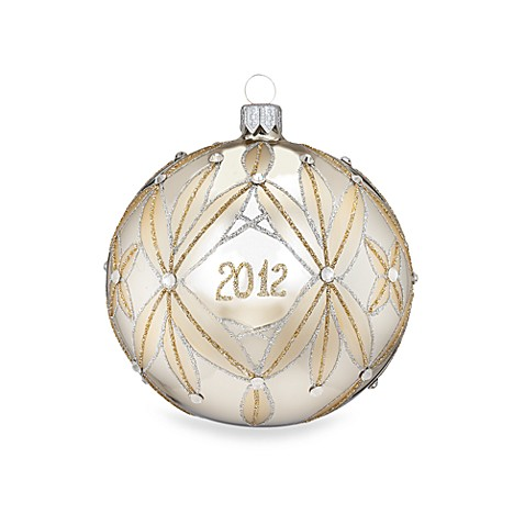 Waterford Holiday Heirlooms Lismore 60th Ball Ornament 2012
