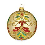 Waterford® Holiday Heirlooms Beaded Lace 5-Inch Champagne Ball Ornament