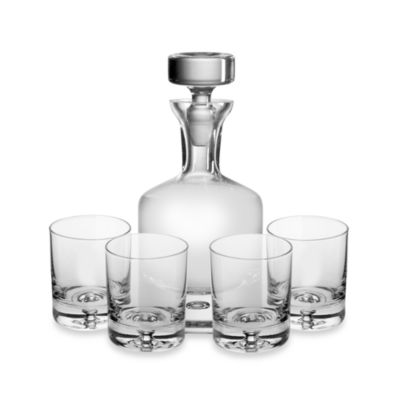 Crystal Decanter 5-Piece Set