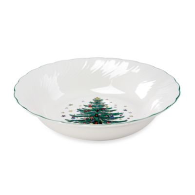 Nikko Happy Holidays 9 1/2-Inch Vegetable Bowl
