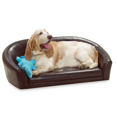 Artemis Small Pet Bed in Brown