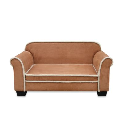 Toque Pet Sofa in Chestnut