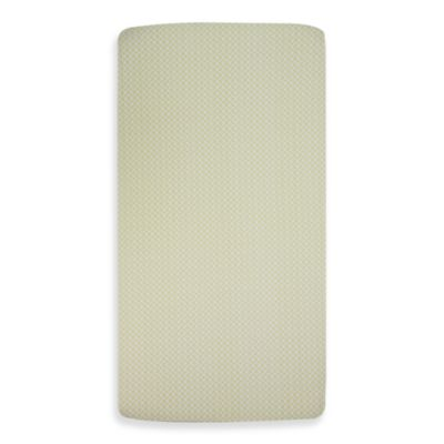 Lolli Living™ by Living Textiles Baby Fitted Sheet in Morocco Green
