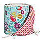 Lolli Living™ by Living Textiles Baby Crib Bumper in Whimsy Multi/Tigerlily