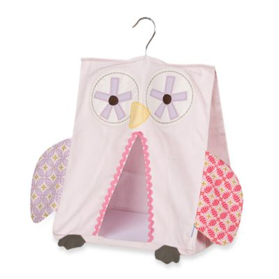 Crib Fashion Bedding > Lolli Living™ by Living Textiles Baby Nursery Organizer in Pink Owl