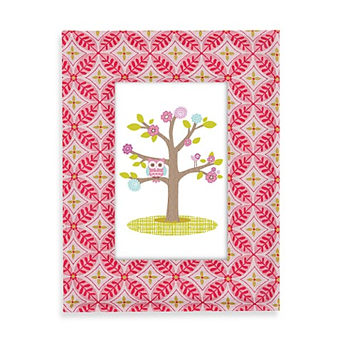 Lolli Living™ by Living Textiles Baby Fabric Covered Picture Frame in Tigerlily Fuchsia