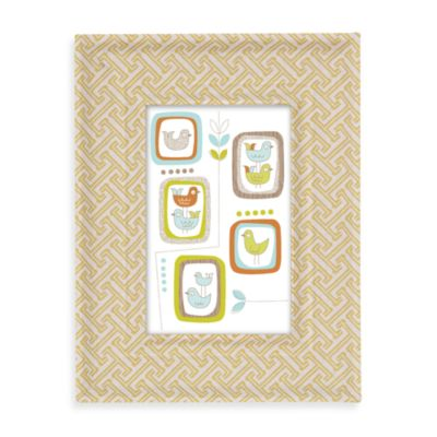 Lolli Living™ by Living Textiles Baby Fabric Covered Picture Frame in Labyrinth Green