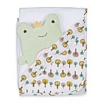 Lolli Living™ by Living Textiles Baby Hooded Towel & Bath Mitt Set in Franky Frog
