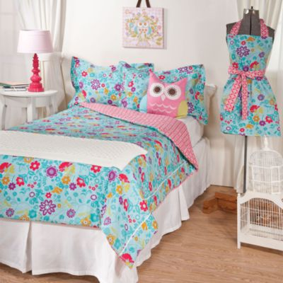 Lolli Living™ by Living Textiles Baby Twin Bedding in Whimsy/Tigerlily Comforter & Sham Set
